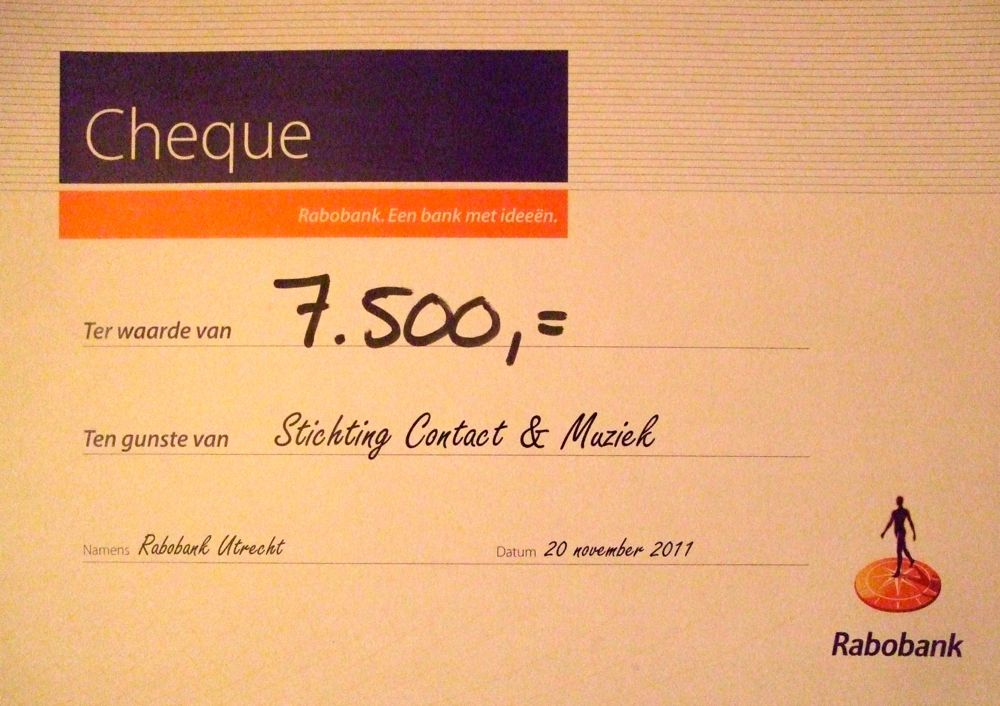 photo 2nd prize, € 7.500 subsidy on 20 November 2011