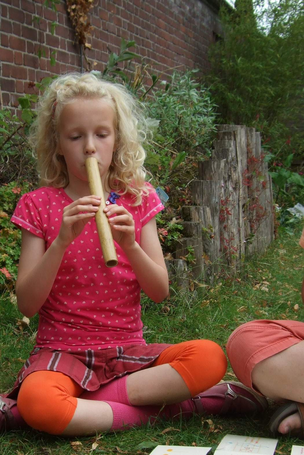 photo from Janne on the one tone bamboo flute