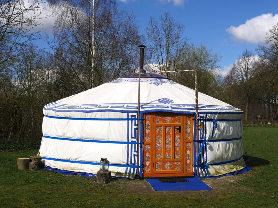 overnachting in yurt / ger in Geesteren, Gelderland, 20-22 maart 2020