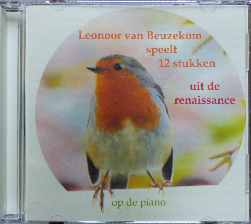 photo, Leonoor's piano CD from November 2015