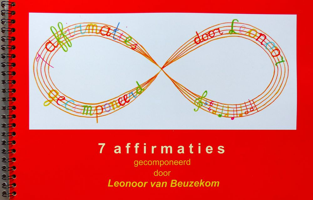 photo of the front of the book '7 affirmations'